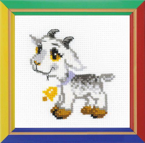 НВ-154 Набор для вышивания Riolis 'Серенький козлик', 15*15 см
