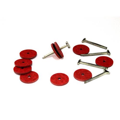 Набор креплений (5 Т-шплинтов,10 дисков фибра 15 мм)