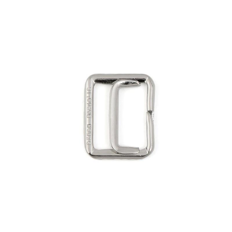 70050 Пряжка регулировочная металл,20мм 999/8