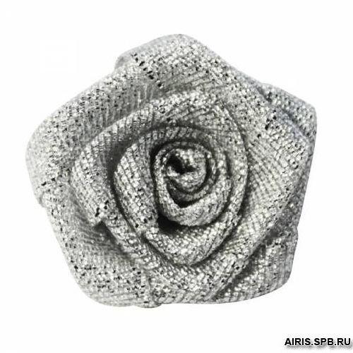 Цветы пришивные люрекс 3,0см