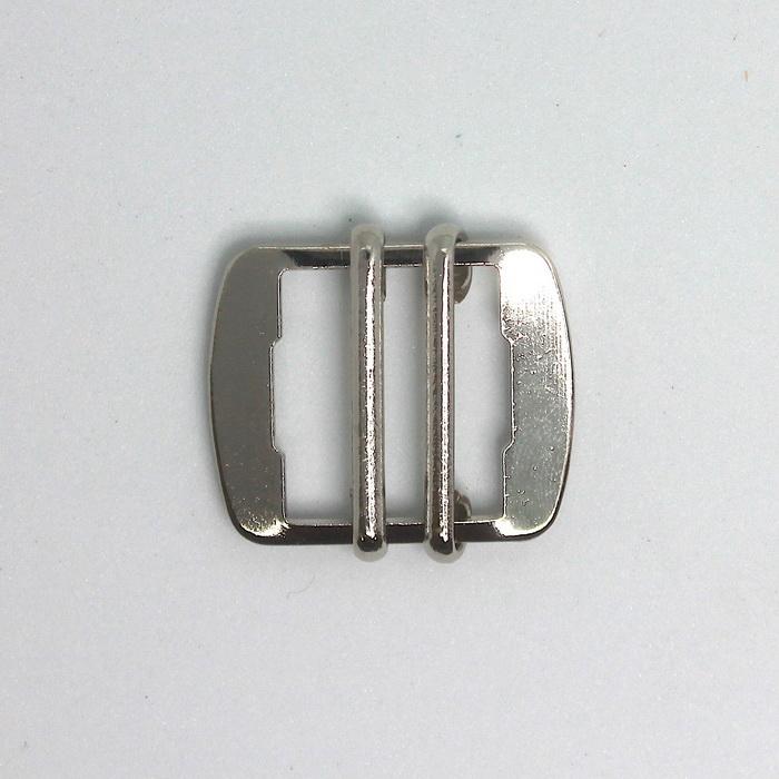 70254 Пряжка регулировочная металл,20мм 40942/20