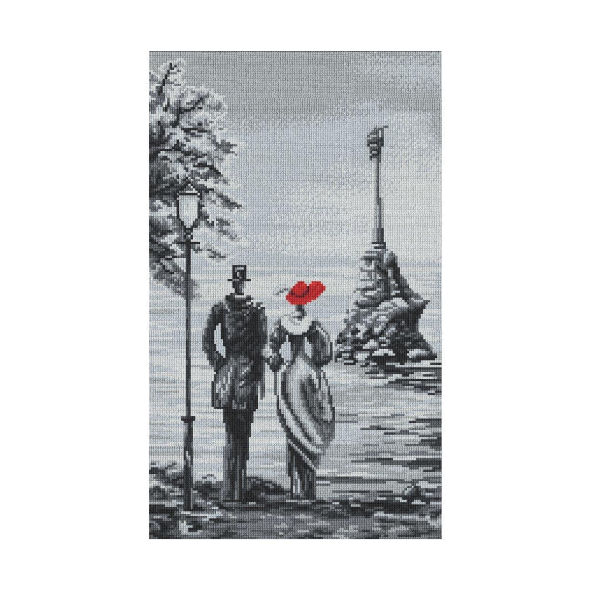 0285 Набор для вышивания 'Севастопольская бухта' 23х38 см