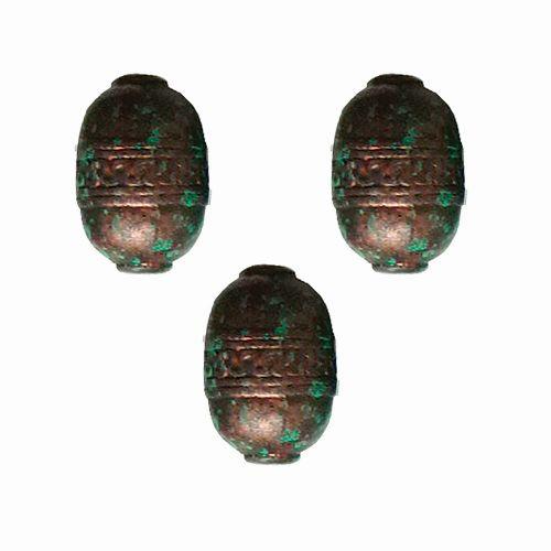 3448 Бусины декоративные, 28*18,5 мм, упак./5 шт., 'Астра'