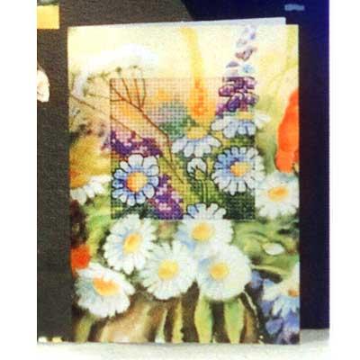 6211 ORCHIDEA Набор для вышивания открытка 10,5х15 см