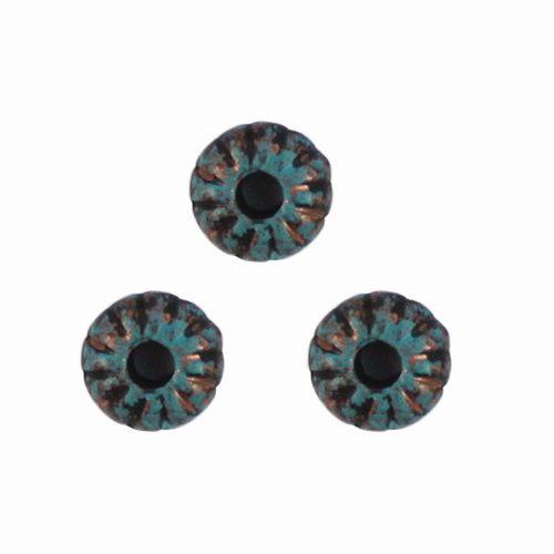 2585 Бусины декоративные, 8*4 мм, упак./160 шт., 'Астра'