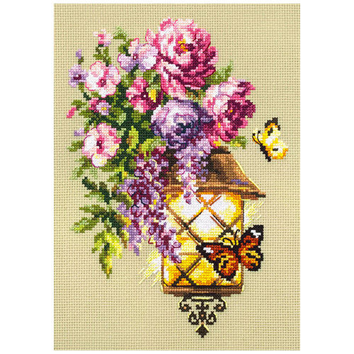 100-041 Набор для вышивания Чудесная игла 'Свет надежды' 17х23см
