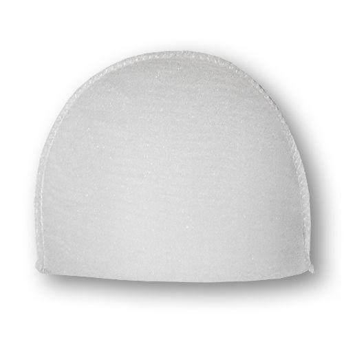 В-16/А Плечевые накладки обшитые, втачные, белый, 16*120*165 мм, Hobby&Pro