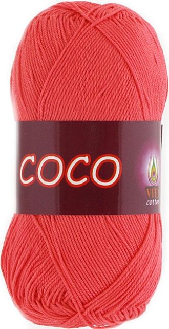 Пряжа Vita 'Coco' 50 гр. 240м. (100% мерсериз. хлопок)