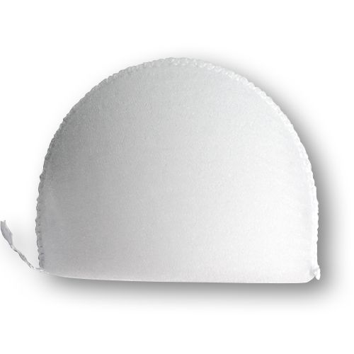 В-12/А Плечевые накладки обшитые, втачные, белый, 12*100*150 мм, Hobby&Pro
