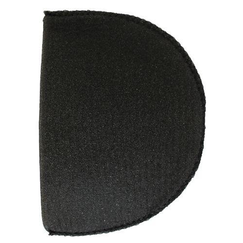 В-14/А Плечевые накладки обшитые, втачные, черный, 14*100*155 мм, Hobby&Pro
