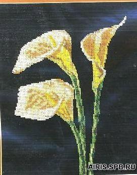 В141 Набор для вышивания бисером 'Торжество грации'