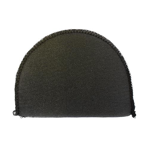 В-8/А Плечевые накладки обшитые, втачные, черный, 8*100*145 мм, Hobby&Pro