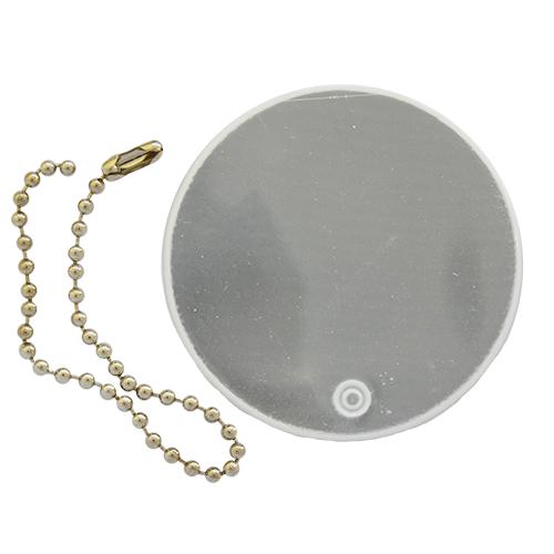 Световозвращатель подвеска 'Круг', ПВХ, 5 см