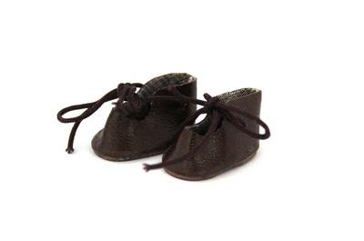 24740 Ботиночки для кукол, 3,0см,2 пары цв. коричневый