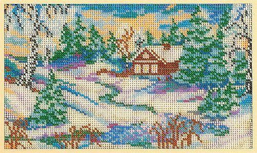 В134 Набор для вышивания бисером 'Предчувствие весны'