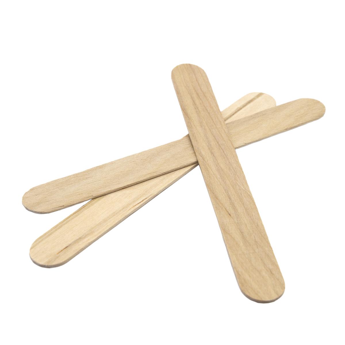 AR1155 Палочки деревянные обработанные 15см, 48шт/упак