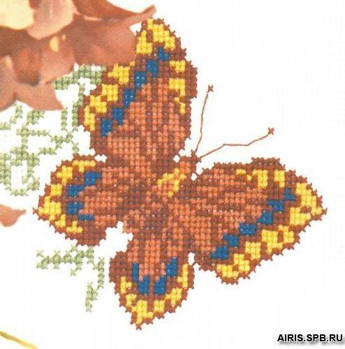 337 Набор для вышивания РC-Студия 'Бабочка 3' 16*14 см