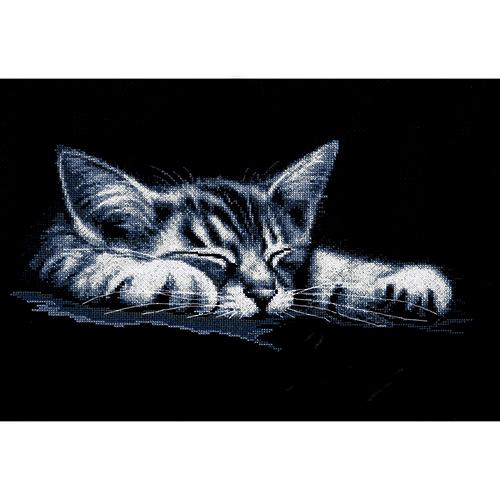 958 Набор для вышивания Hobby&Pro 'Мой котёнок' 36*18см