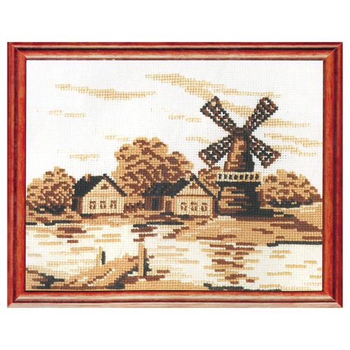 С-15 Набор для вышивания 'Старая мельница' 27x20см