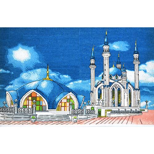 962 Набор для вышивания Hobby&Pro 'Мечеть Кул-Шариф г. Казань' 41*26см