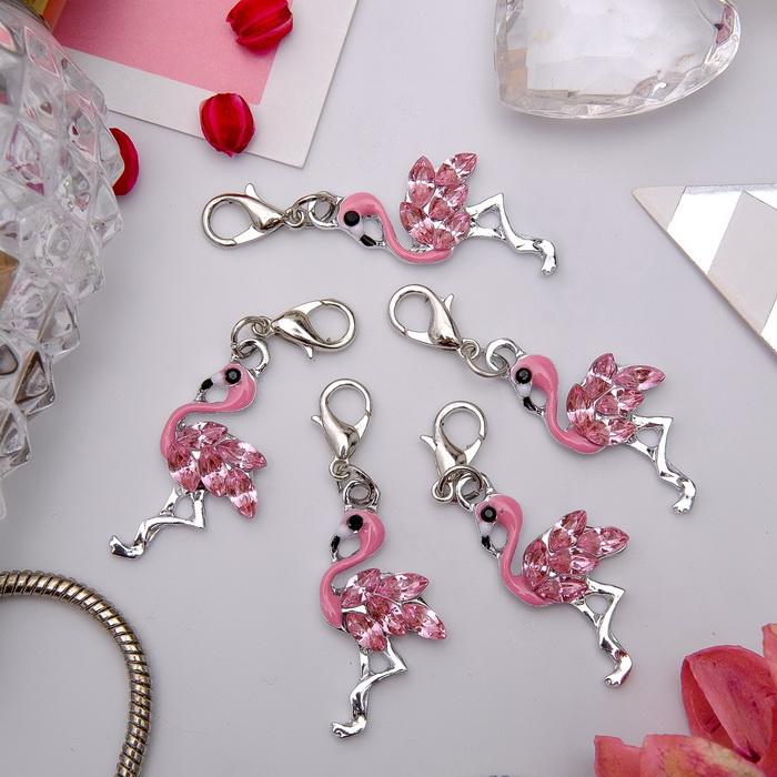 3740363 Шарм 'Фламинго', цвет розовый в серебре