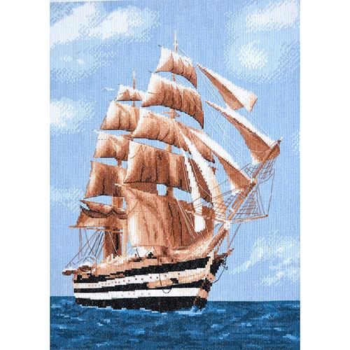 965 Набор для вышивания Hobby&Pro 'Морское путешествие' 28*39см