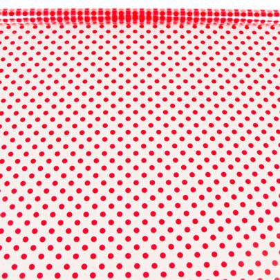 54198 Пленка цветная Бисер 70см красный
