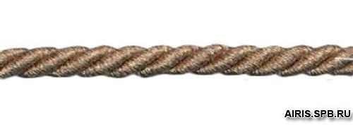23-105 Шнур витой 5мм*50м люрекс