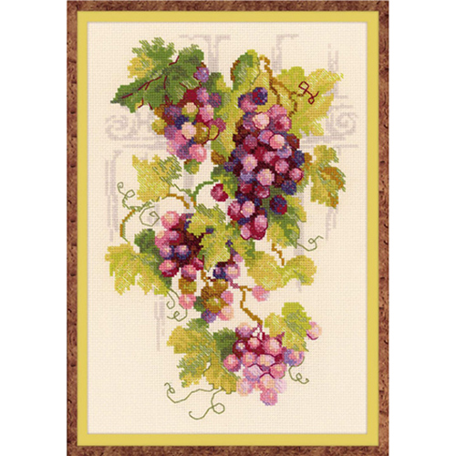 1455 Набор для вышивания Riolis 'Виноградная лоза', 21*30 см