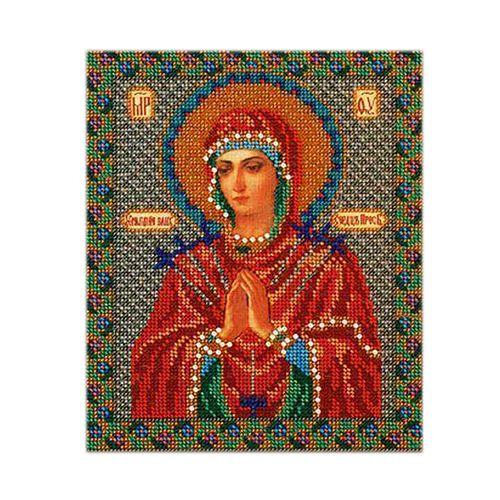 В154 Набор для вышивания бисером 'Кроше' 'Умягчение злых сердец', 20x23 см