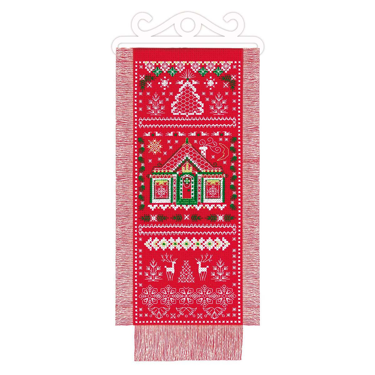 1897 Набор для вышивания Риолис 'Лапландия' 15*31 см