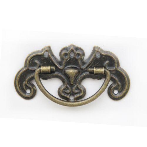 Ручка декоративная для шкатулок 23*44 мм, 2шт бронза