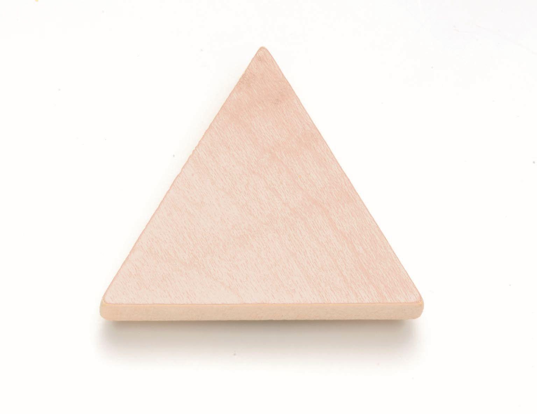 61680090 Магнит с деревянной формой Треугольник FSC-SGS-COC-003077 Glorex