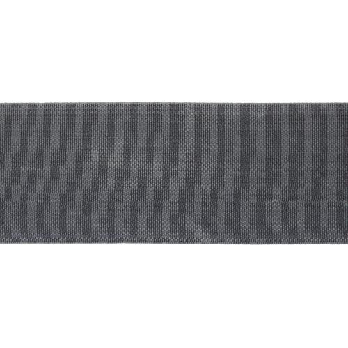 15-3850/1748 Резинка вязаная 40мм*25м т.серый