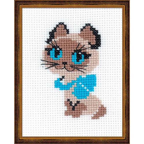 462 Набор для вышивания Riolis 'Котёнок', 13*16 см