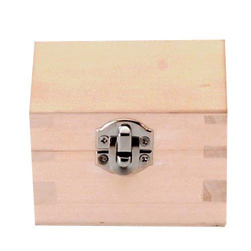 61682100 Деревянная шкатулка, 7*7*4 см, Glorex