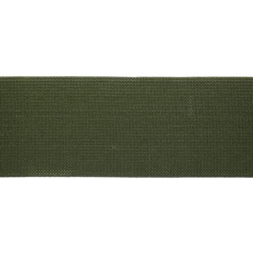 15-3850/9831 Резинка вязаная 40мм*25м оливка