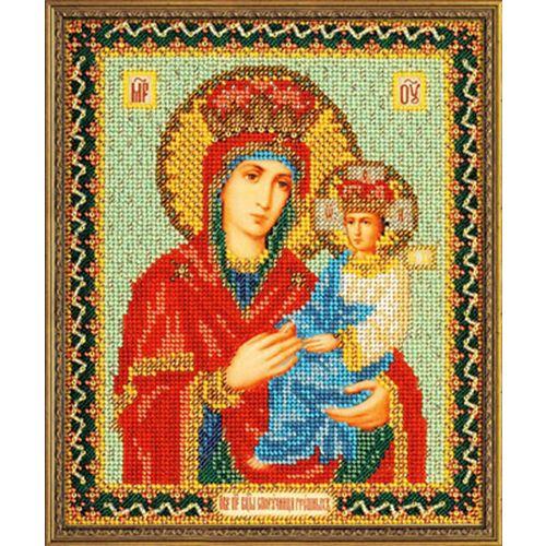 В169 Набор для вышивания бисером 'Кроше' 'Богородица Споручница грешных', 20x24 см