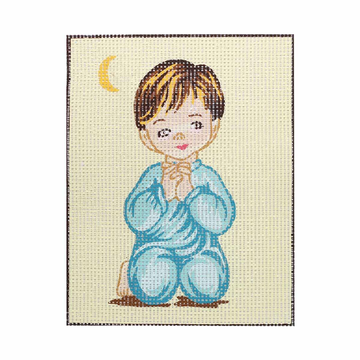 EP33 Комплект для вышивания 'Ангелочек 3' 25х20 см
