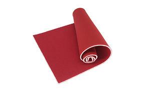 27541 Поролон В 301а, 65см*21см ( 50см*25см), толщ.3мм (хлопок+п/э), цв. красный (100)