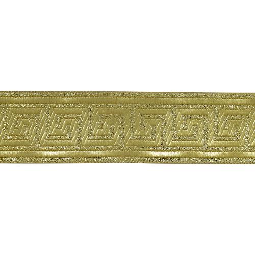 35062 Тесьма металлизированная 'Меандр' 35мм*5м