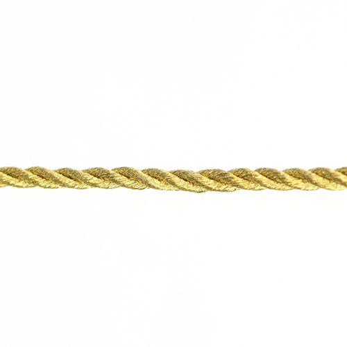 Шнур витой металл. 3мм*50м
