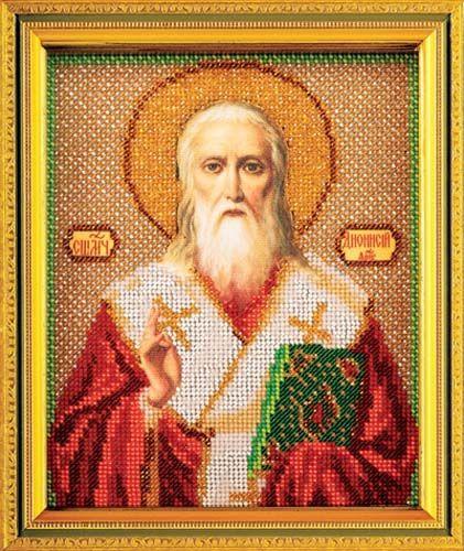 В346 Набор для вышивания бисером 'Кроше' 'Св. Дионисий', 12х14,5 см