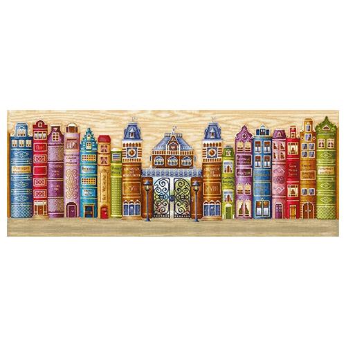 К-30 Набор для вышивания 'Королевство книг', 77*28 см