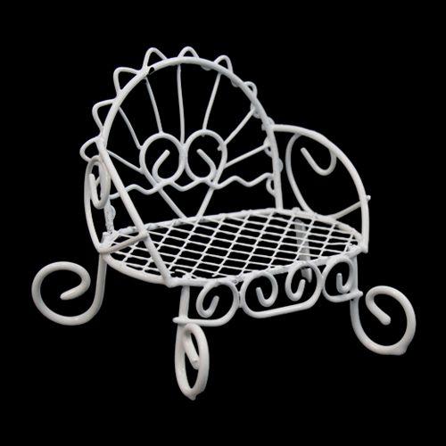 Металлическая скамейка 1, 8*7*6 см