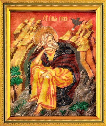 В355 Набор для вышивания бисером 'Кроше' 'Св. Илья', 12х14,5 см
