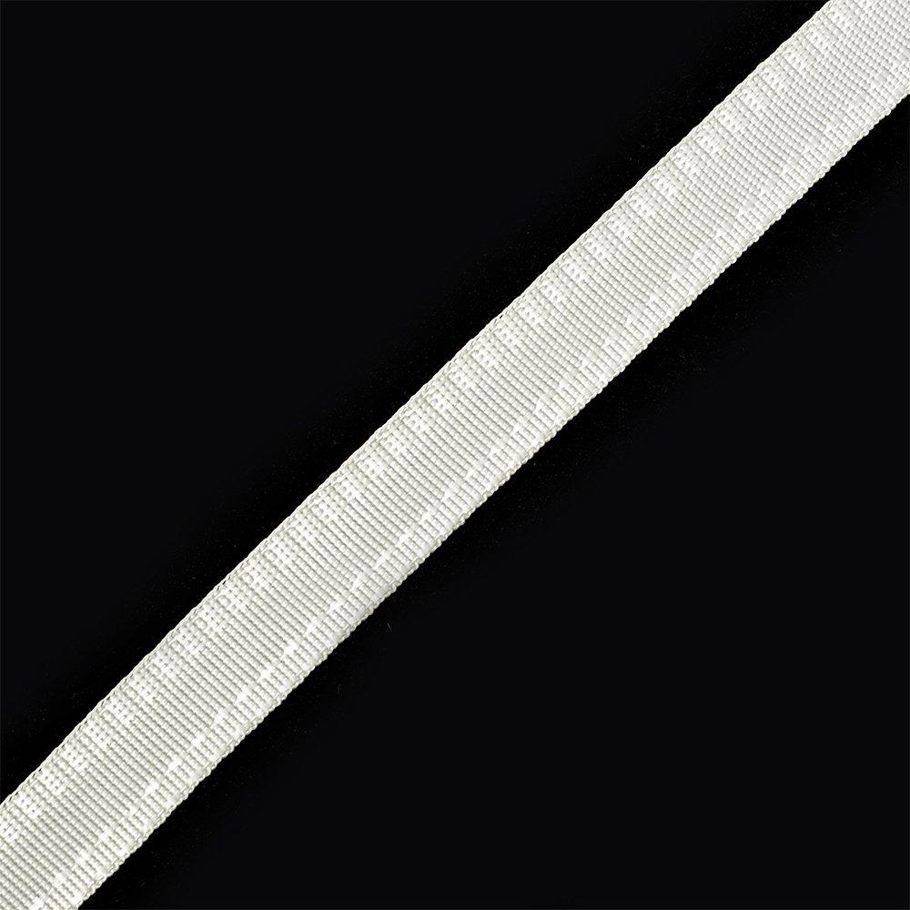 Тесьма брючная (полиэфирная) арт.4316 шир.15мм цв.белый уп.50м А, Ф4316БЕЛ50