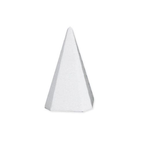 Заготовка для декорирования из пенопласта 'Пирамида', h 6 см, 4*4см