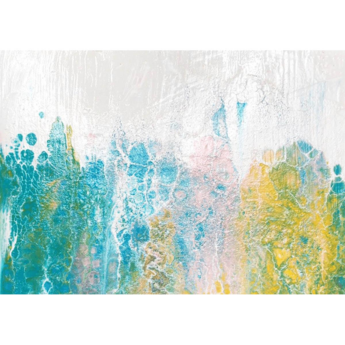 FA004 Набор для творчества Картина в стиле fluid art 'Абстракция' 30*30см