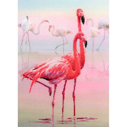 РТ-0012 Набор для вышивания Riolis 'Фламинго', 30*40 см